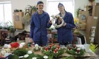 Vánoční výstava - příprava